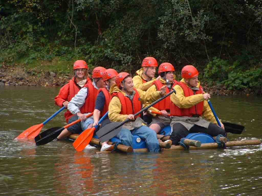 raft building project